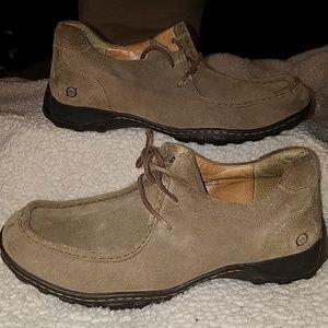 Mens Born Leather Shoes Sz 9
